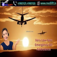 Avail Full HiTech Medical Support Air Ambulance Service in Delhi